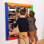 Ripple Soft Framed Sensory Mirror